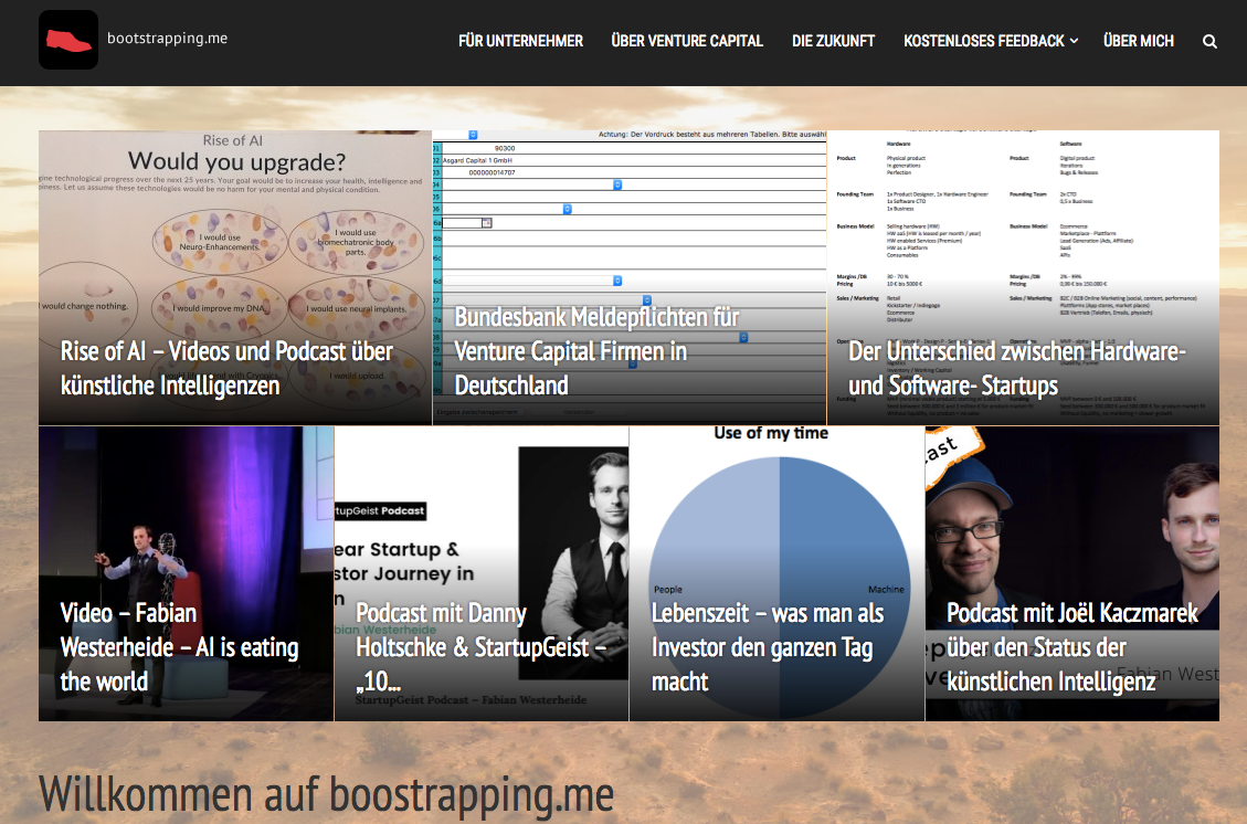 5 Jahre Bootstrapping.me