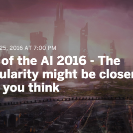 The Rise of AI 2016 in Berlin