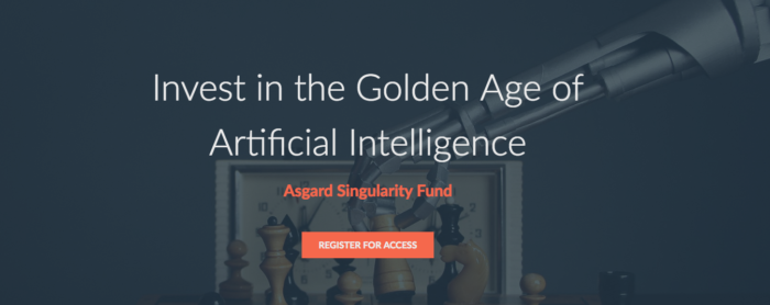 Asgard Singularity Fund Security Token Offering