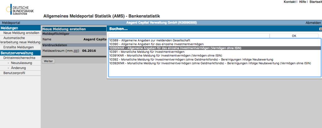 Meldepflichten Bundesbank Venture Capital