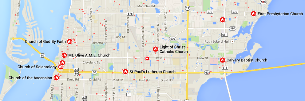 Jede Menge Kirchen