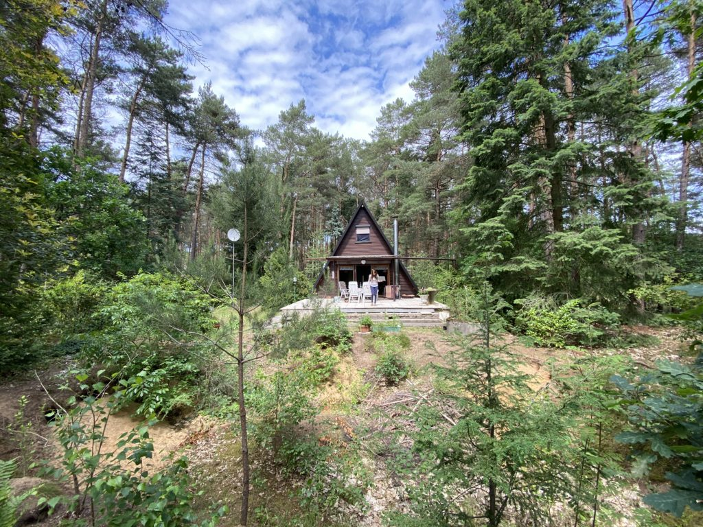 Waldhütte Mai 2020